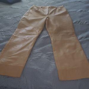 Leather pants Escada